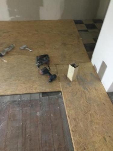 Galerie plancher OSB